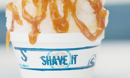 Shave Ice at Shave It (Up to 48% Off)