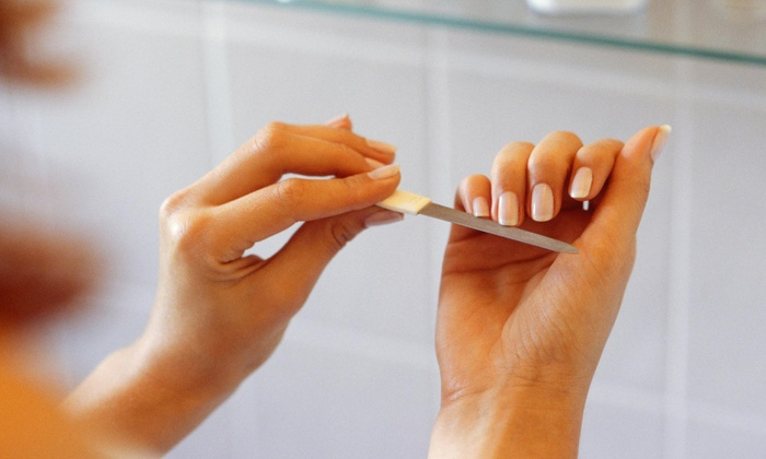 Nails By Ms Kim - Vegas Heights: A Manicure from Nails By Ms Kim (50% Off)