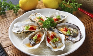 Oysters and Drinks for Two or Four at Catch Twenty-Three (Up to 60% Off)