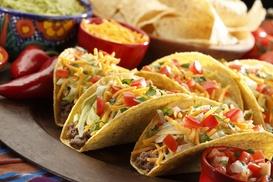 Hacienda De Los Perez: Two Tacos with Purchase of $15 or More at Hacienda De Los Perez