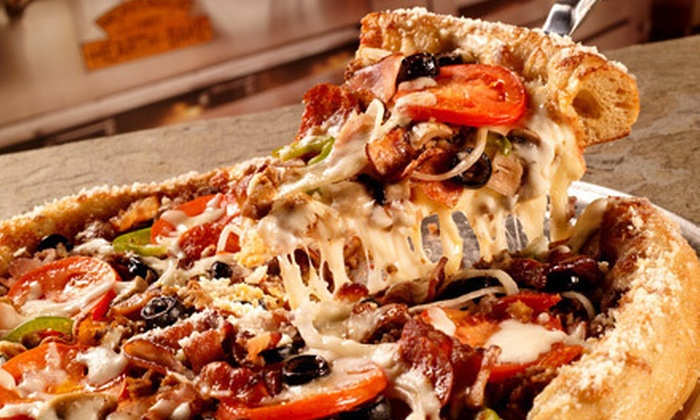 Mellow Mushroom - Pearl: $10 for $20 Worth of Gourmet Pizza, Hoagies, and Salads at Mellow Mushroom