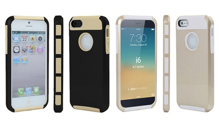 3DLuxe Dual-Layer Gold Case for iPhone 6 or 5/5s