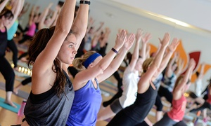 Body Alive: $49 for Two Months of Unlimited Hot Yoga and Barre Classes at Body Alive (Up to a $170 Value)