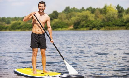 image for Kayak or Paddleboard Rental from Olympic Outdoor Center (Up to 66% Off). Six Options Available.