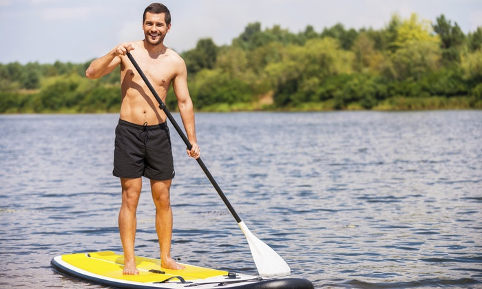Surf and Ski Water Sports - Surf and Ski Watersports: One or Two Two-Hour Paddleboard or Single-Person Kayak Rentals at Surf and Ski Water Sports (Up to 52% Off)