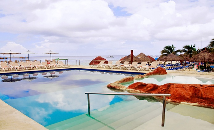 Beachfront Resort in Cozumel. All-Inclusive Options Available.