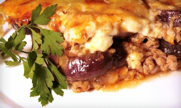 Zorba Greek Restaurant - Multiple Locations: $15 Worth of Greek Food