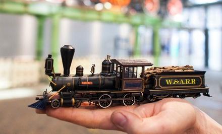 Entreeticket voor Het Spoorwegmuseum in Utrecht en de Modeltreinexpo On traXS!
