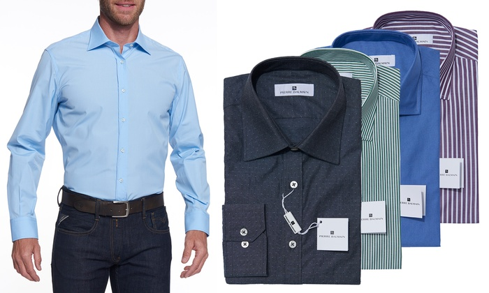 Pierre Balmain Business Hemd | Groupon Goods