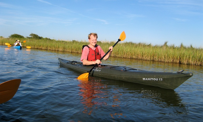Artist Boat - Old Silk Stocking Historic District: Four-Hour Kayak Adventure for One or Two from Artist Boat (50% Off)