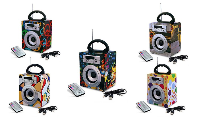 BeeCool - Merchandising (AE): Boom Box With Remote Control in Choice of Style for AED 89 (70% Off)