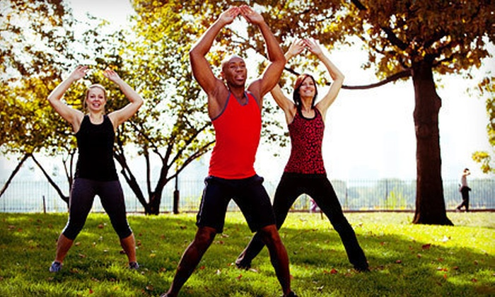 Link Fitness - Harlem: 5, 10, or 20 Boot-Camp Classes at Link Fitness (Up to 84% Off)