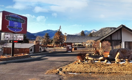Groupon Deal: 1-, 2-, or 3-Night Stay for Up to Four with Drinks and Framed Photograph at Murphy's Resort in Estes Park, CO