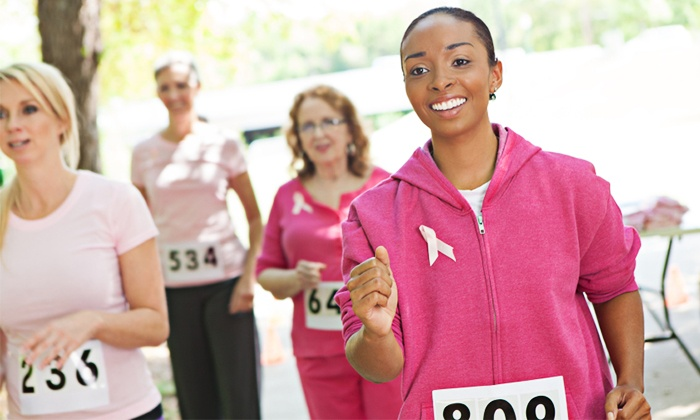 Mommy Has Breast Cancer - Winston Lake: I Love Mom 5K Walk to Fight Breast Cancer for One or Two from Mommy Has Breast Cancer on May 10 (Up to 56% Off)