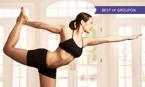 Fitness on Fire: Hot Yoga: Five (£16) or Ten Sessions (£29) at Fitness on Fire, Old Street