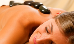 Deluxe Spa at Hilton : Spa Package with 60-Minute Hot-Stone Massage and Optional Facial at Deluxe Spa at Hilton (Up to 60% Off)