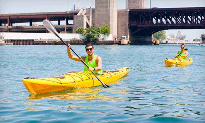 Urban Kayaks - River Walk: Sunset or Historic Tour for One or Two from Urban Kayaks (Half Off)