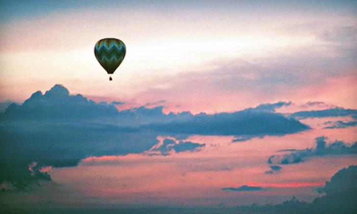 Stillwater Balloon - Lakeland Shores: $147 for a Semiprivate Hot Air Balloon Ride for One with Champagne Toast from Stillwater Balloon ($245 Value)