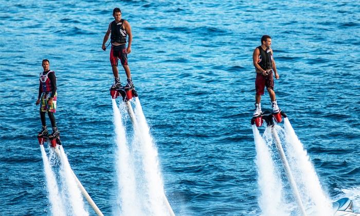 BCFlyboard operated by Vancouver Water Adventures - Granville Island: $199 for a Flyboard Adventure for Two at Vancouver Water Adventures ($300 Value)