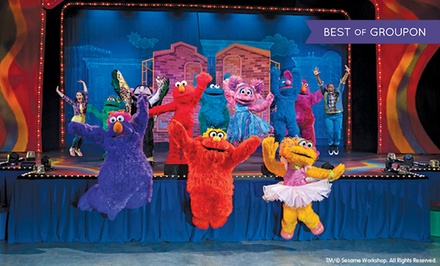 "Sesame Street Live ""Let's Dance!"" at Frank Erwin Center on April 10–12 (Up to 44% Off)"