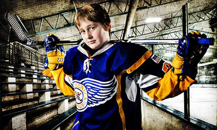 Leichtner Studios - Henrietta: $79 for a 10-Pose Sports Photo Shoot on Fantasy Background with Prints at Leichtner Studios ($176 Value)