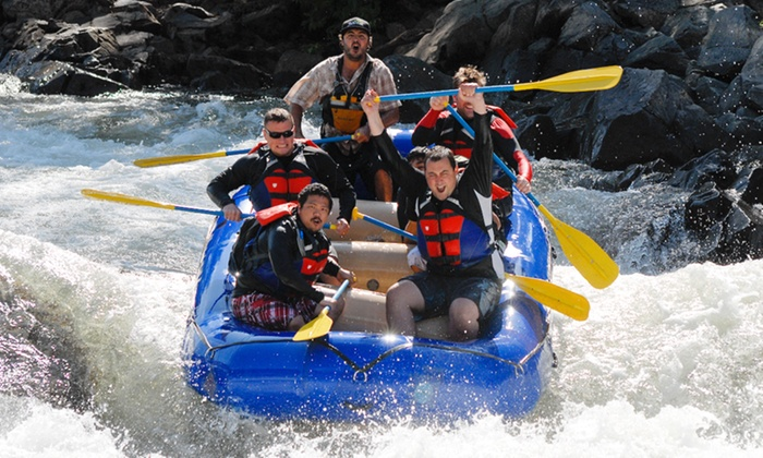 Rise Up River Trips - Auburn: Full-Day Middle Fork Wilderness Rafting Trip for One, Two, or Four from Rise Up River Trips (Up to 44% Off)