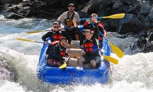 Rise Up River Trips: Half-Day, 6-Mile Rafting Trip from Rise Up River Trips (Up to 39% Off). Eight Options Available.