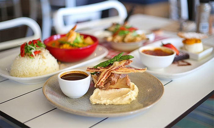 Jellyfish Cafe Manly - Manly: Three-Course Lunch or Dinner for Two ($69) or Four People ($138) at Jellyfish Cafe Manly (Up to $267.20 Value)