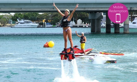 $99 for a Flyboard Experience with Jetpack Adventures, Main Beach (Up to $175 Value)