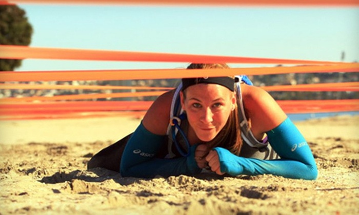 SD Obstacle Race Camp - Pacific Beach: 5 or 10 Boot-Camp Classes at SD Obstacle Race Camp (60% Off)