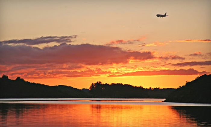 AAFI, LLC - Business Aircraft Center: $299 for a One-Hour Sunset Flight for Two at AAFI, LLC in Danbury ($600 Value)