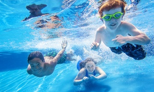 Mack Indoor Pool: Dive-In Movie Night Admission for a Family with 2 Adults and 2 Kids at Mack Indoor Pool (Up to 44% Off)