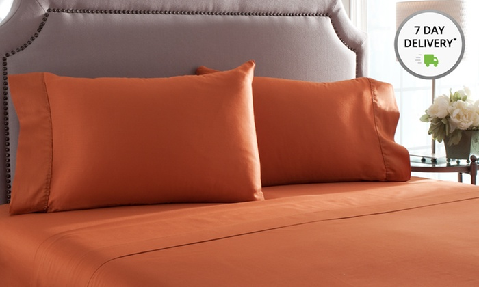 100% Pima-Cotton Sheet Set: 100%Pima-Cotton Sheet Set. Multiple Colors Available. Free Returns.
