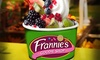 Frannie's Goodie Shop - Mt KIsco - Multiple Locations: Three Groupons Each Good for $10 Worth of Fro-Yo or Fro-Yo Party for Up to 10 at Frannie's Goodie Shop (50% Off)