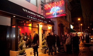 Stand Up NY: Standup Comedy with Shots for Two or Four at Stand Up NY (Up to 78% Off)