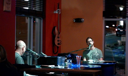 $29 for Pizza Meal and Dueling Piano Show for Two with Drinks at Double D's Sourdough Pizza ($49.50 Value)