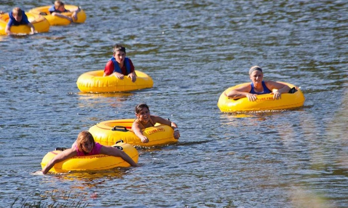James River Association - Historic Tredegar: James River Splash & Dash 5K Run and Tubing Race for Two or Four on Saturday, July 11 (40% Off)