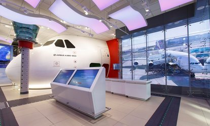 image for Emirates A380 or B777 Flight Simulator Experience (43% Off)