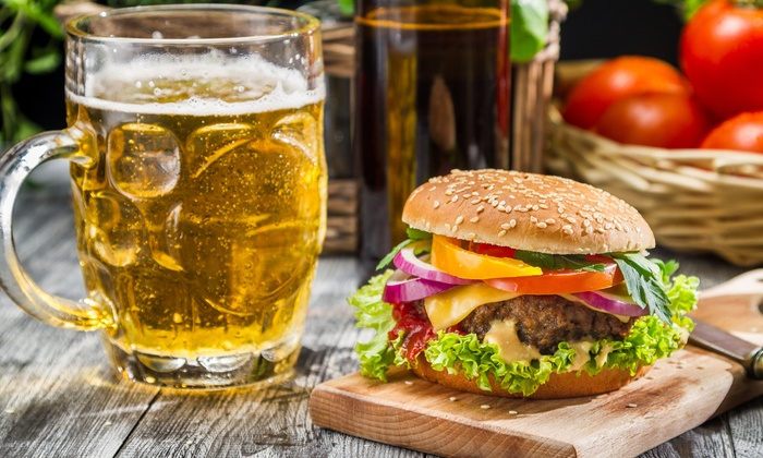 The Clubhouse - St. John: Pub Food and Drinks for Two or Four at The Clubhouse (Up to 40% Off)