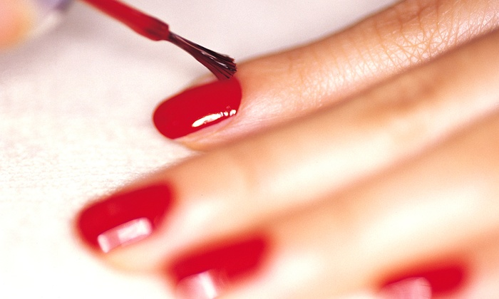 Top Hair-Nails - Sunnyvale West: One or Two Royal Mani-Pedis at Top Hair-Nails (Up to 58% Off)