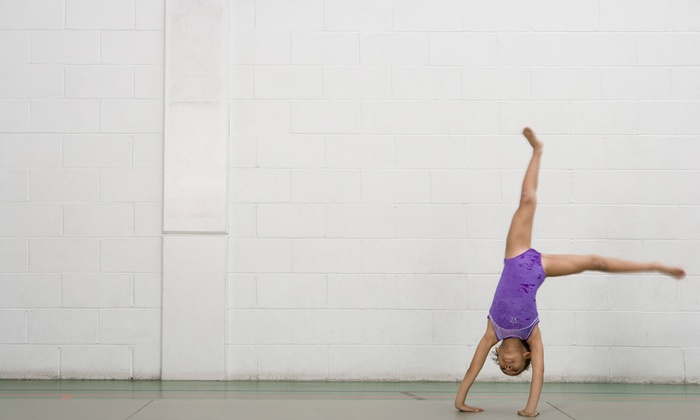 Stick It Gymnastics - Hudson Business Park: $41 for $75 Groupon — Stick It Gymnastics