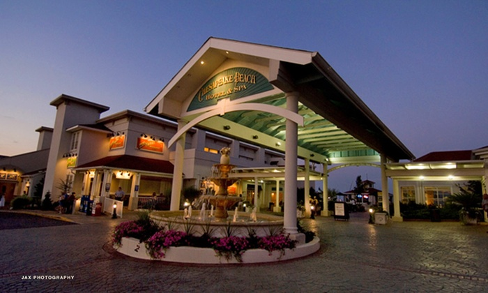 Chesapeake Beach Resort and Spa - Chesapeake Beach: 1- or 2-Night Stay with Gaming and Dining Credits at Chesapeake Beach Resort and Spa in Chesapeake Beach, MD