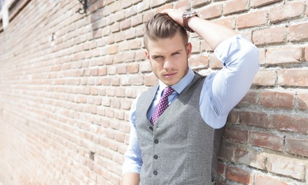 Two Haircuts with Shampoo and Style from Select Salon Studios (55% Off)