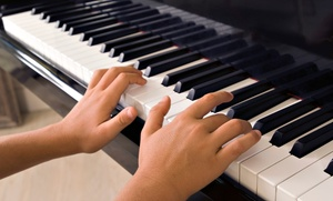 A Joyful Noise Music Studio: Six Group Beginner or Intermediate Simply Music Keyboard Lessons at A Joyful Noise Music Studio (Up to 73% Off)