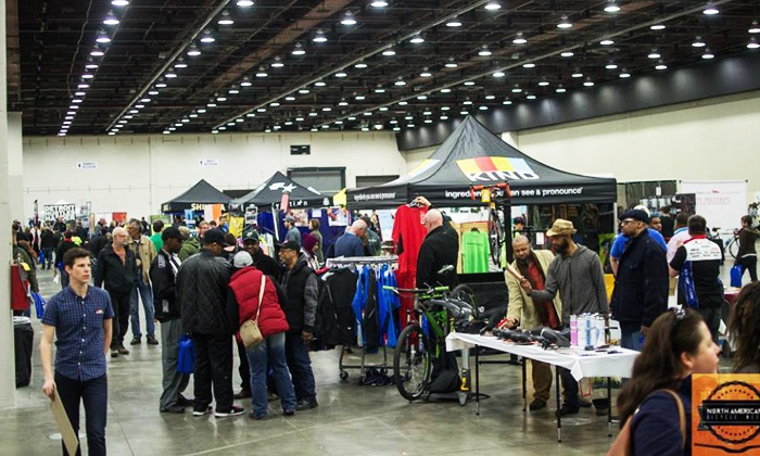 North American Bicycle Show - Cobo Center: North American Bicycle Show for Two or Four on March 28 (Up to 50% Off)