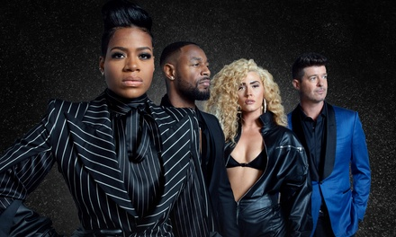 Fantasia: The Sketchbook Tour feat. Robin Thicke, Tank, and The Bonfyre on Saturday, November 30, at 8 p.m.