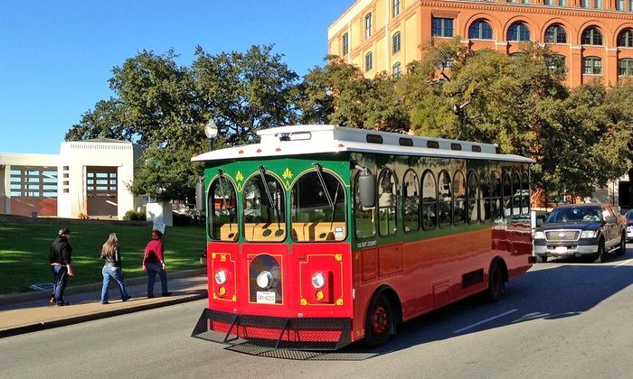 St. Louis Fun Trolley Tours - St. Louis: 90-Minute City Trolley Tour for One, Two, or Four from St. Louis Fun Tours (Up to 52% Off)