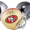 NFL Autographed Mini Helmets