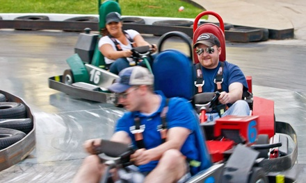 $27 for Mini Golf, Go-Karts, and Rides for Two at Thunder Road Family Fun Park of Sioux Falls ($45 Value)