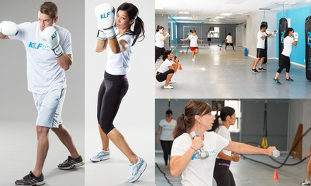 $19 for $105 Worth of Fitness/Boxing at Kick Life Forward Fitness Ltd.